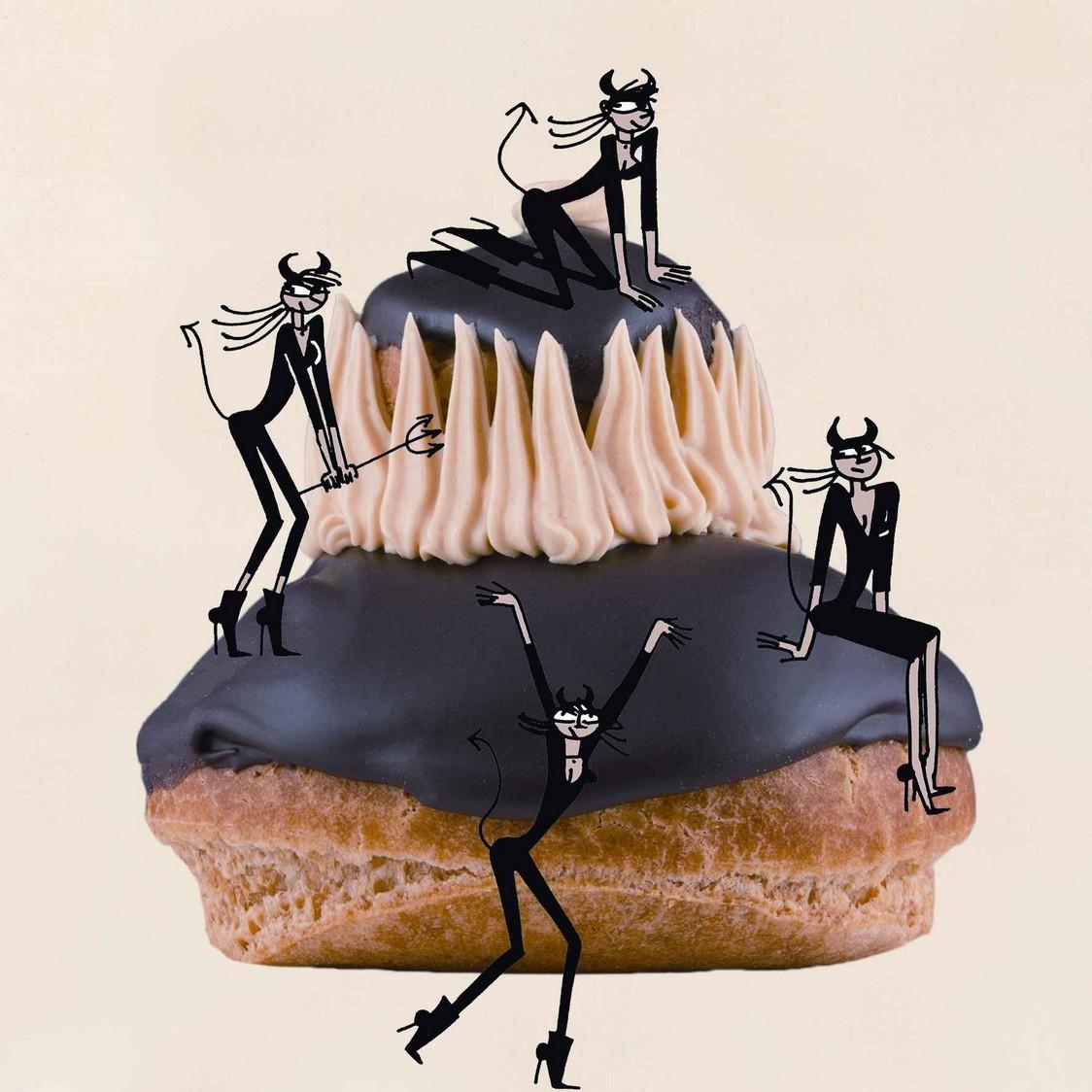 Religieuse Psycho du gâteau - copie