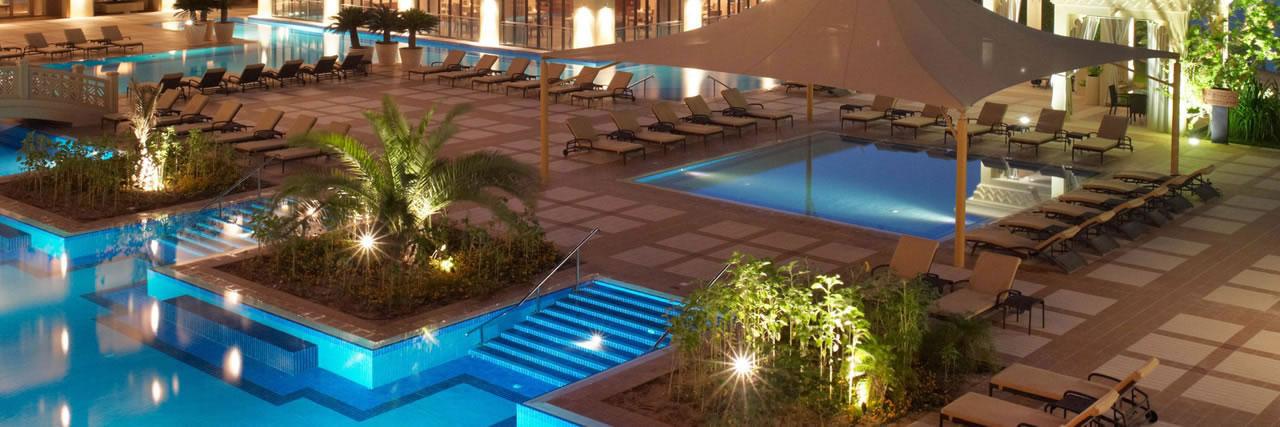 Grand-Hyatt-Doha-Pool-View-Night
