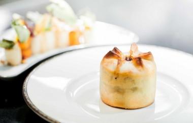 Restaurant le Meurice Alain Ducasse, Pâté chaud de Perdreau  - copie