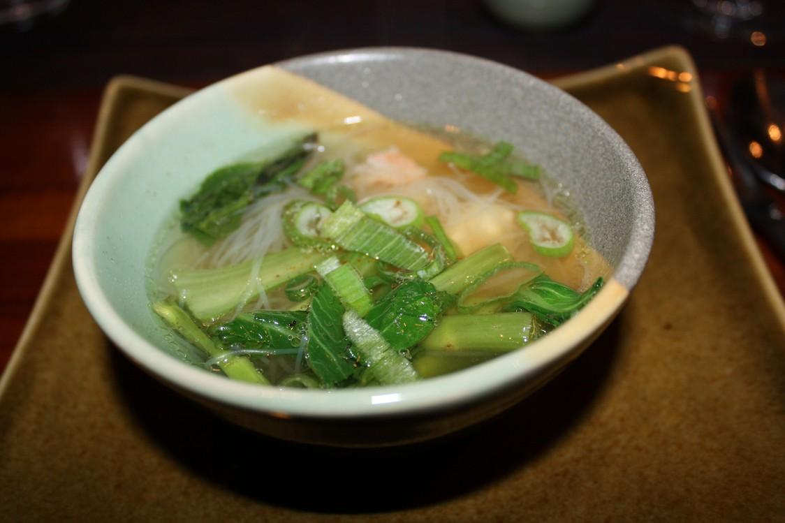 Soupeaux nouilles et céleri thaï