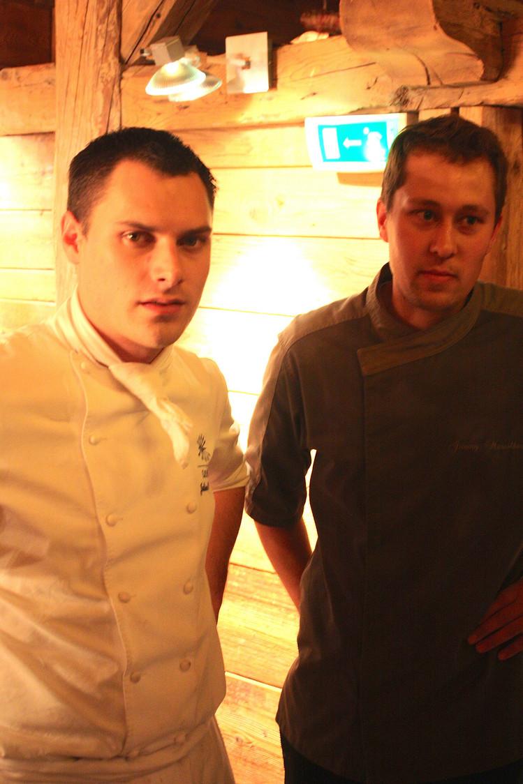 Julien Gatillon et son chef de la Taverne