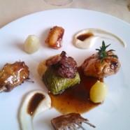 Le Menu Parisien du restaurant Le Céladon