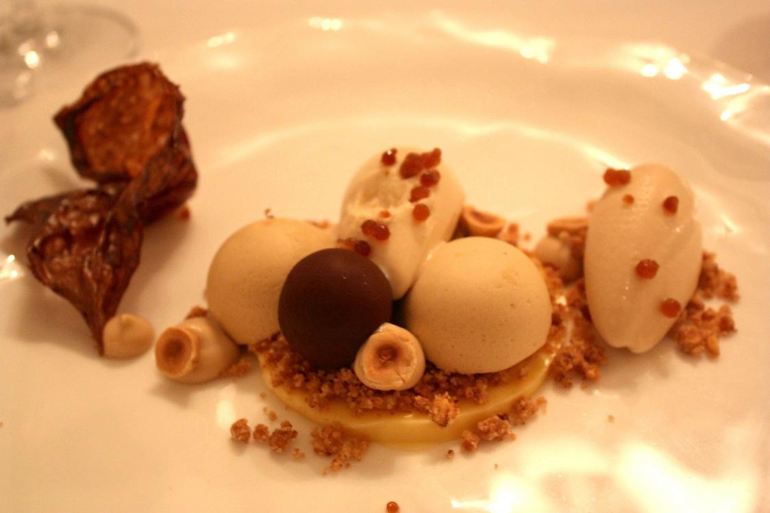 Dessert noisettes