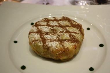 Pastilla croustillante au poulet et amandes