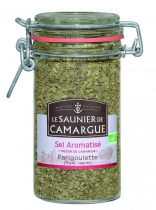 Pot Sel de Camargue aromatisé Farigoulette