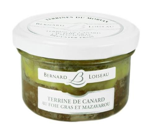Bernard Loiseau - Terrine de canard au foie gras et mazavarou