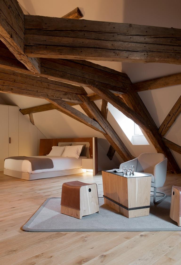 Hôtel Les Haras - Chambre 01 ®HilaireHelene