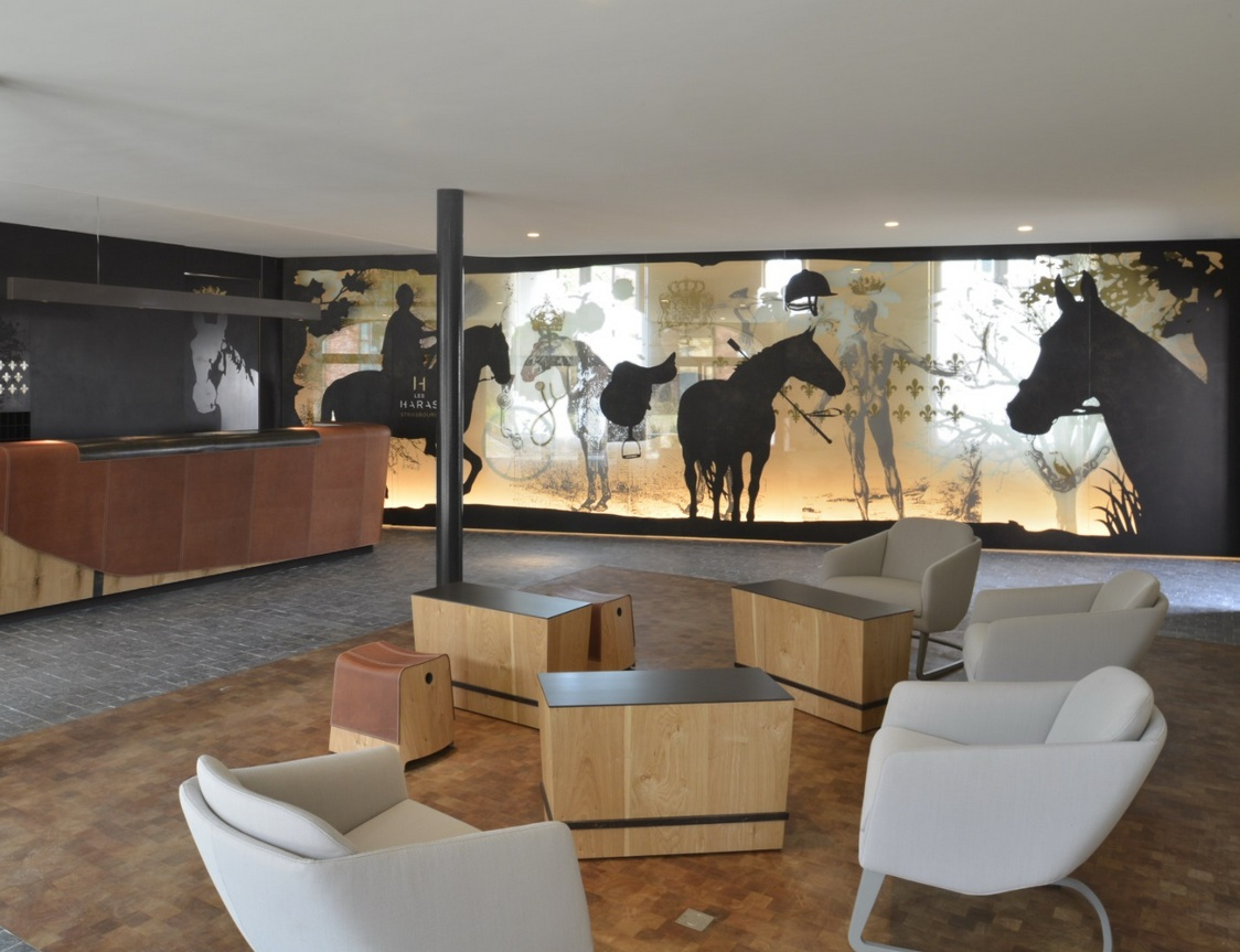 Hôtel Les Haras - Lobby ©Patrick Bogner
