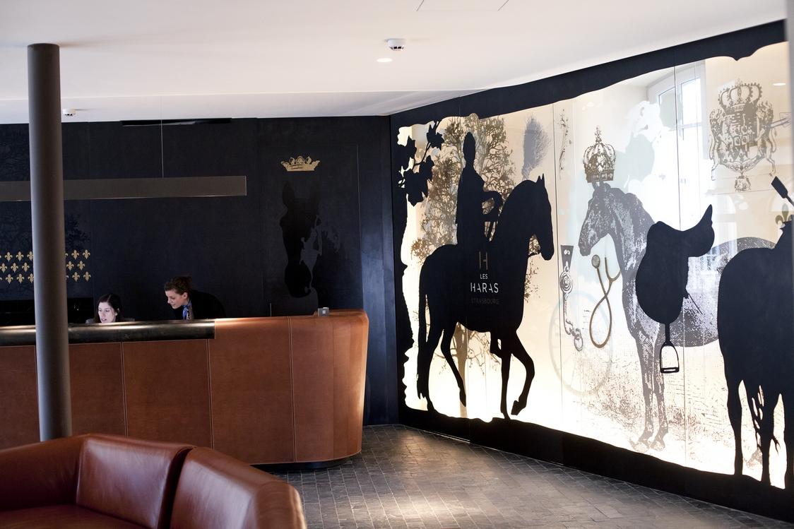 Hôtel Les Haras - Lobby 01 ©ERANIAN