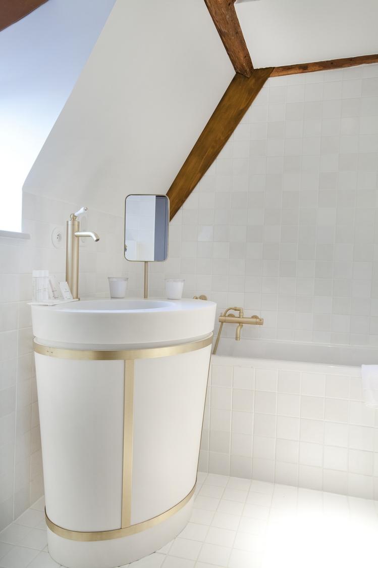 Hôtel Les Haras - Salle de bain ©ERANIAN