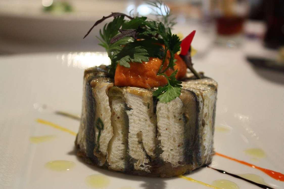 Le Pergolèse - Moelleux de filets de sardines marinés aux épices