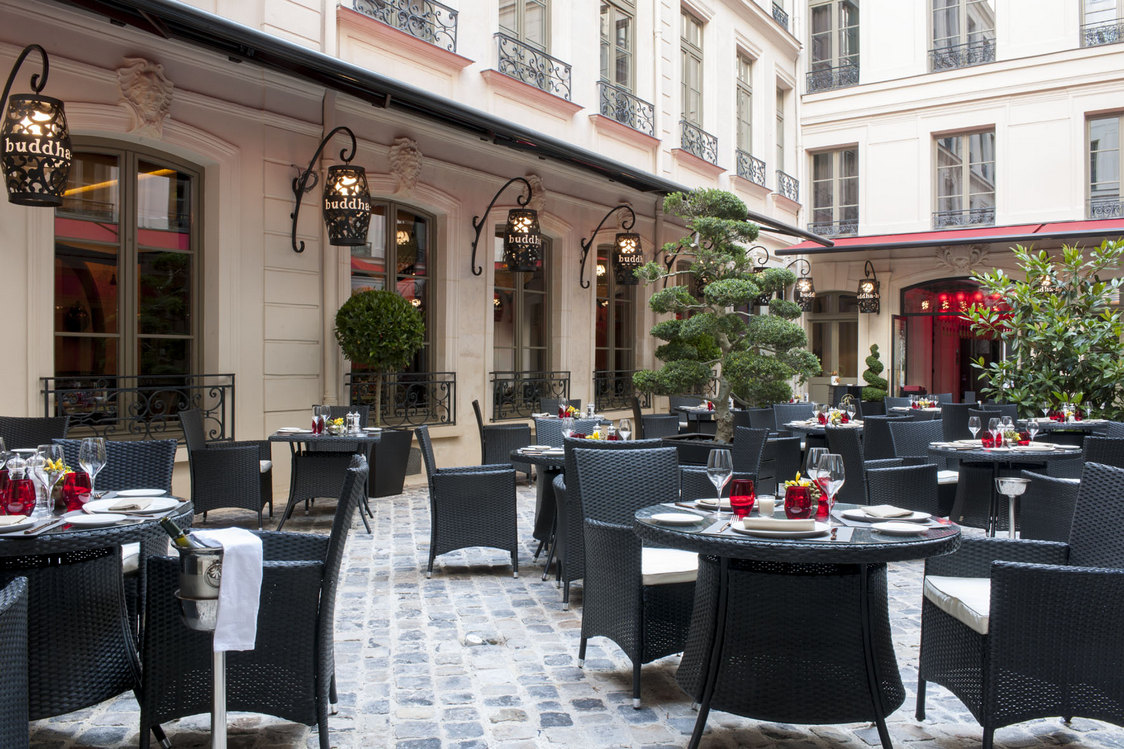 Buddha Bar Hôtel - Terrasse