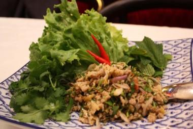 Chez Ly - Salade thaï de poulet, coriandre
