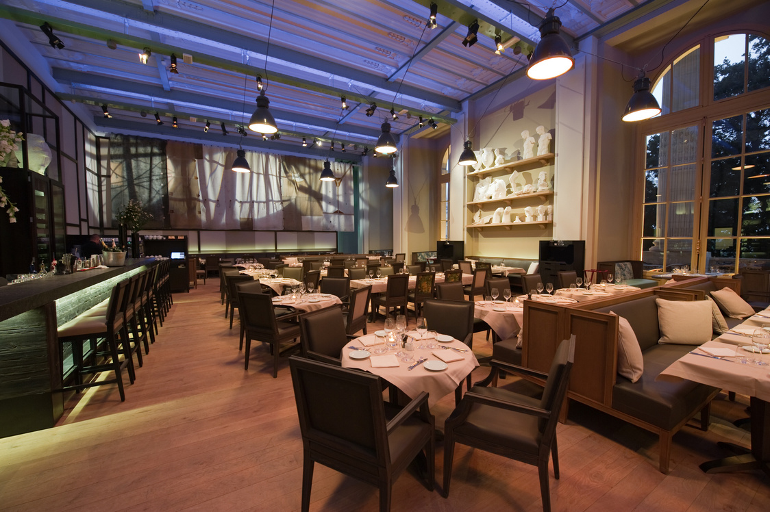 Mini Palais - Salle de restaurant  2 © Vincent Krieger