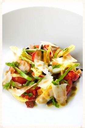 Crayères - Salade niçoise au homard
