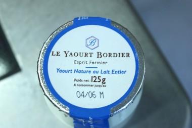 Le Yaourt Bordier - Yaourt nature au lait entier