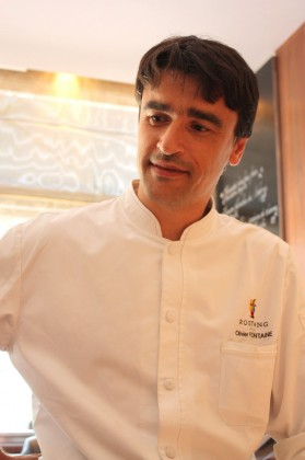 Le chef Olivier Fontaine © P.Faus