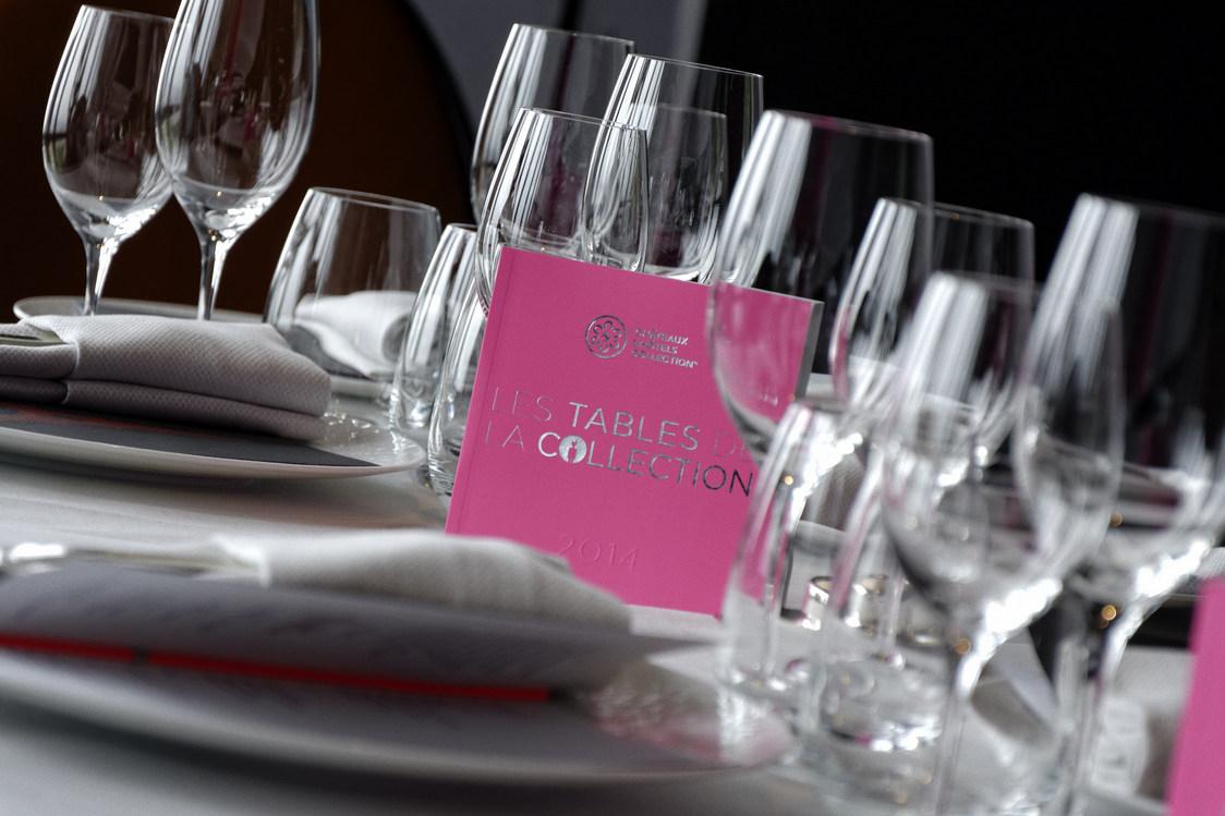 Carnet des Tables de la Collection 2014 (c) Châteaux & Hôtels Collection