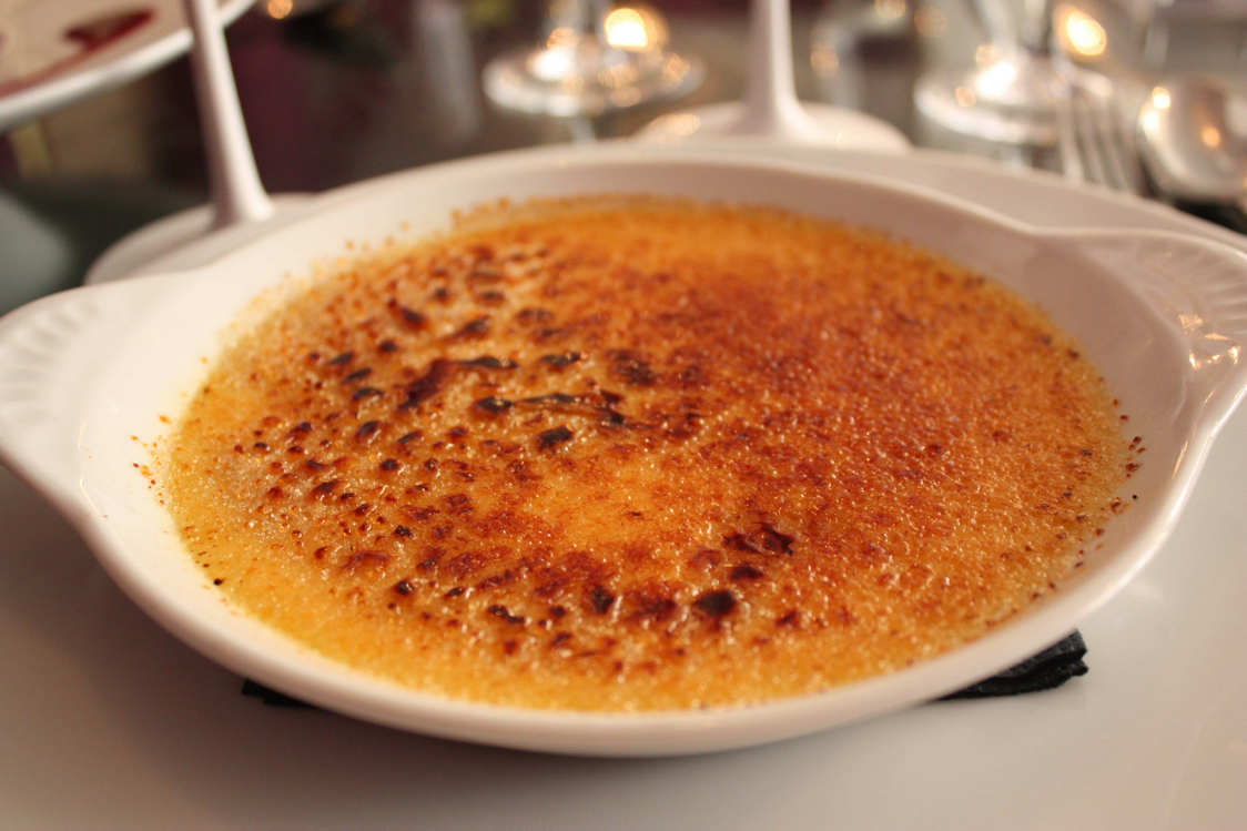 Crème brulée © P.Faus