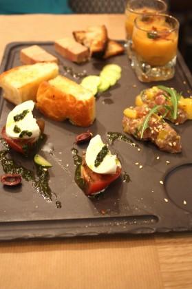 Olive & Artichaut - Assortiment d'entrées © P.Faus