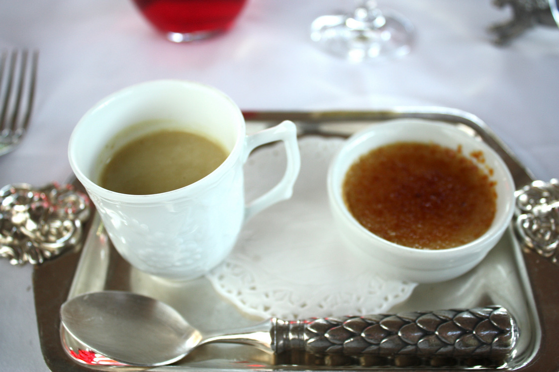 Crème brulée au foie gras © P.Faus.