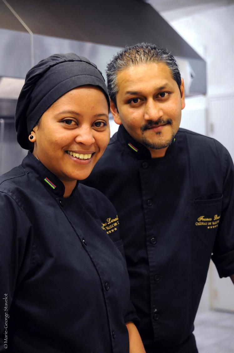 Franco & Karina en cuisine