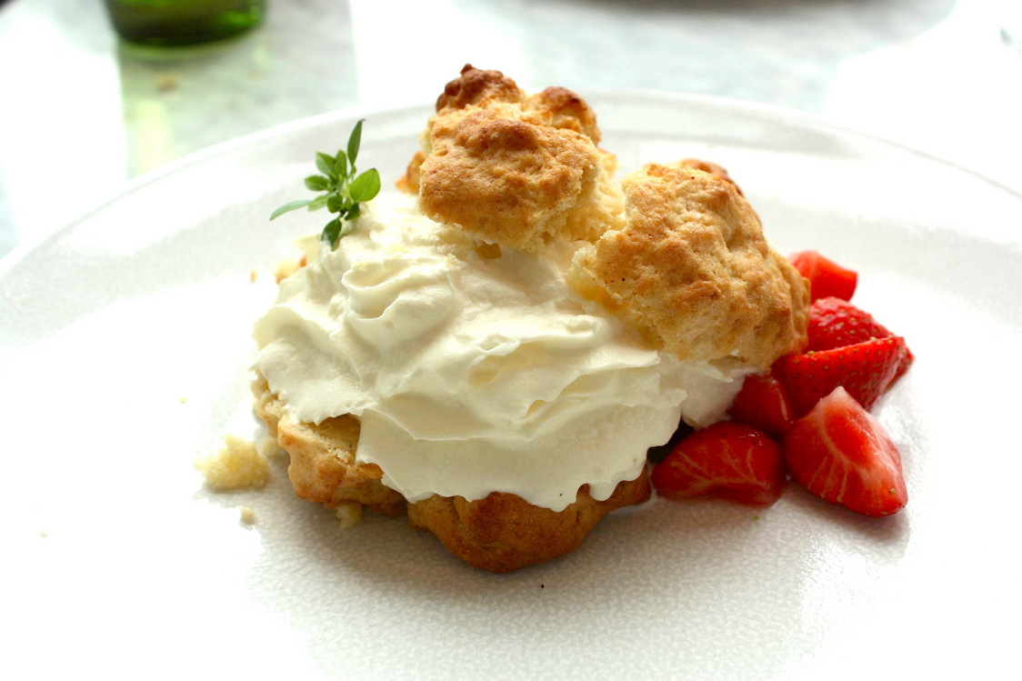Shortcake fraises, chantilly - copie