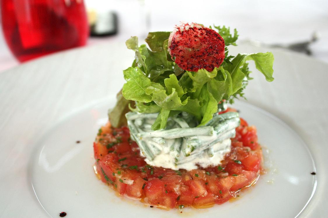Tartare de tomates marinées au Balsamique blanc © P.faus