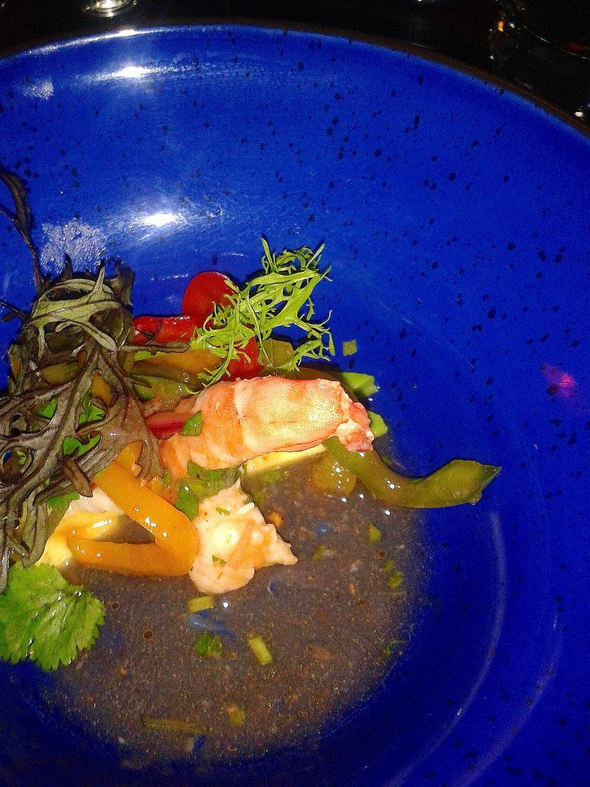 Ceviche de crevettes