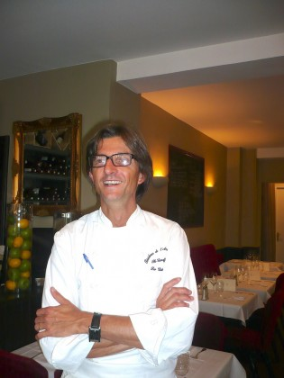 Chef  Philippe Excoffier.© P.FausJPG