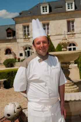 Le chef Franck Dumouli