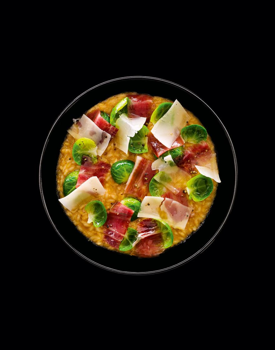 Risotto-au-jus-choux-de-bruxelles-parmesan-et-jambon-page-68