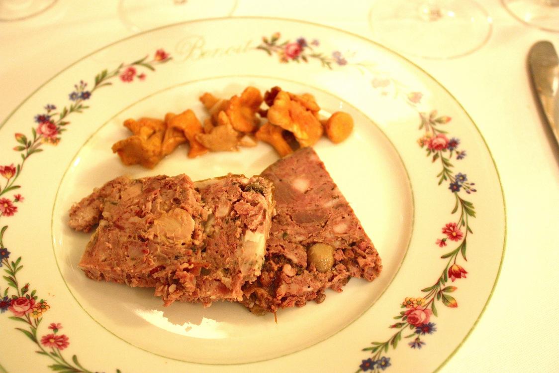 Terrines au marcassin, à la poule faisanne, au cerf © P.Faus