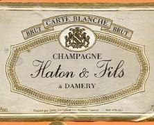 Le Vin Du Mois – Champagne Haton Brut Carte Blanche