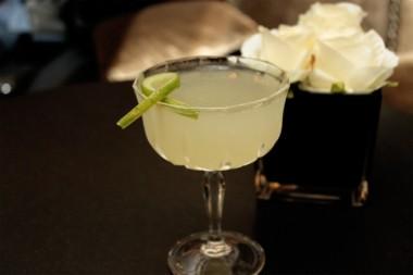 Pear & cucumber martini