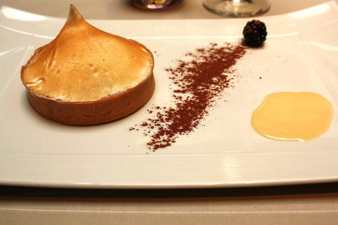 Tarte au citron de la Pâtisserie des Rêves  © P.Faus