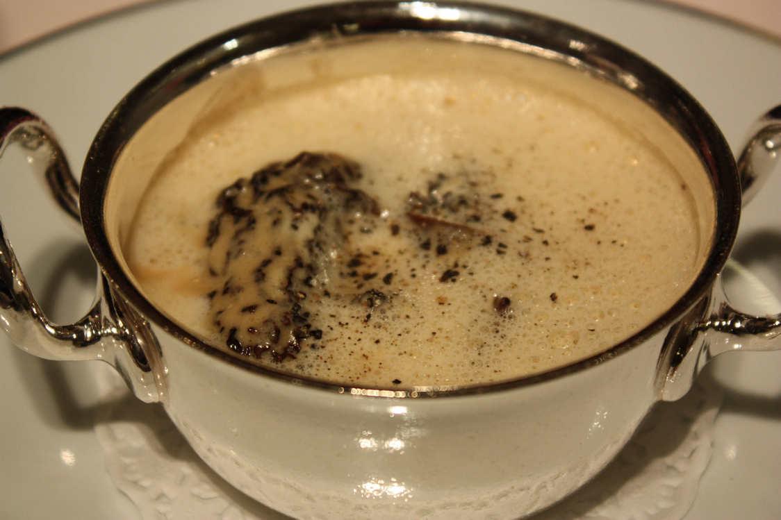 Cassolette de morilles et crème © P.Faus