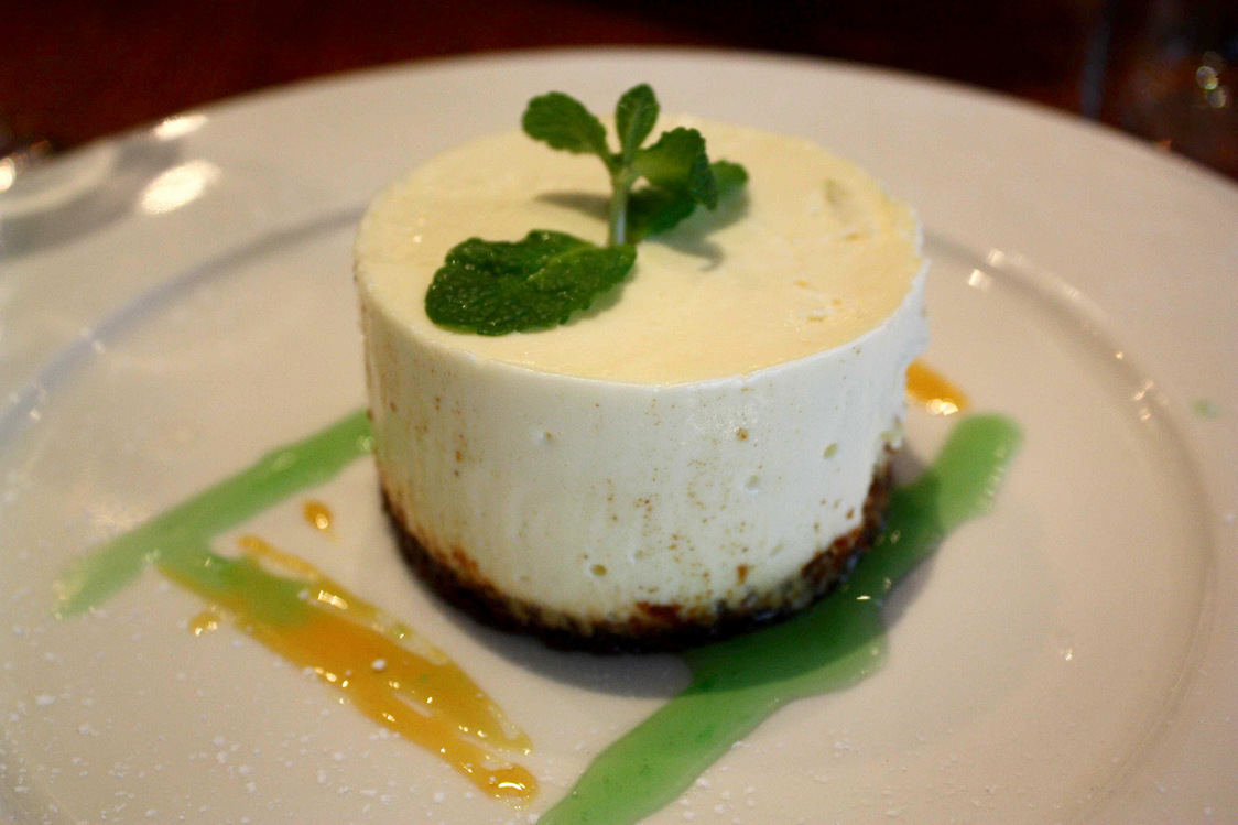 Cheese cake citron © P.Faus