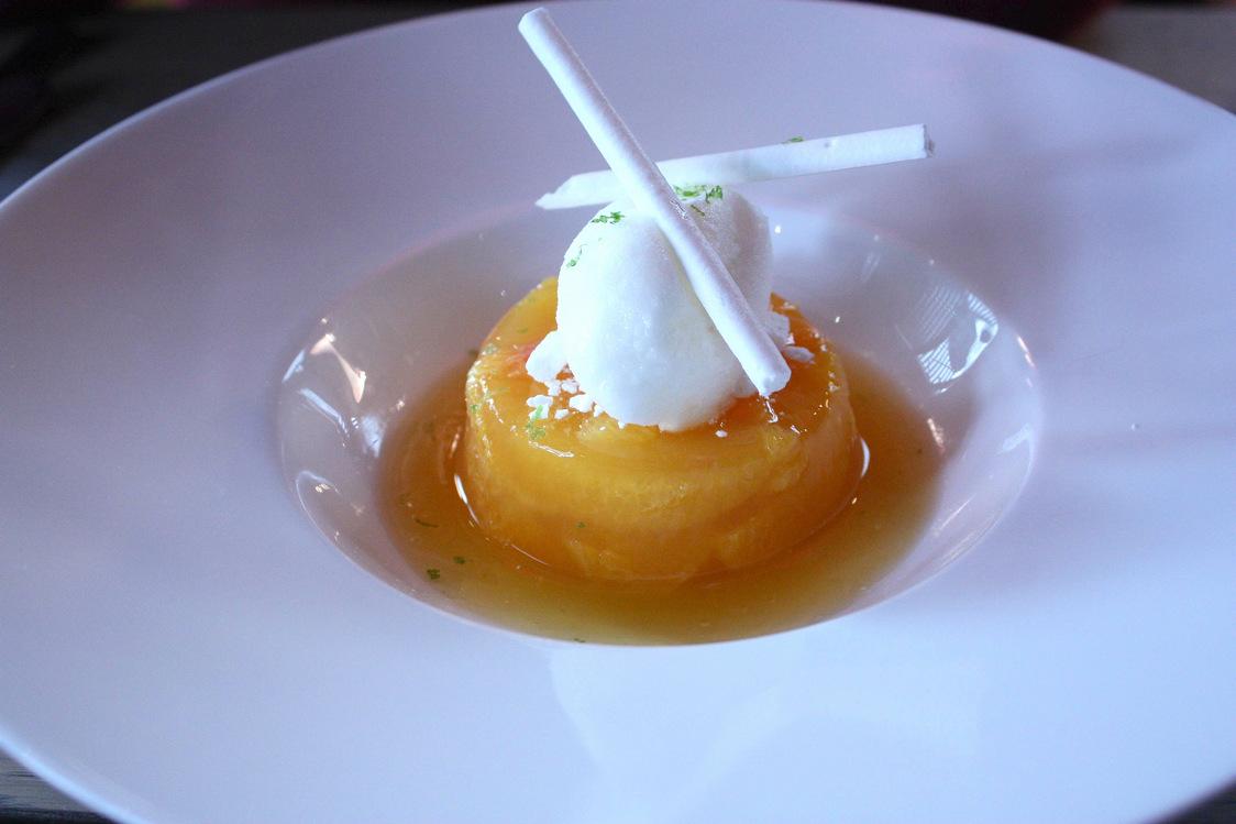 Fraîcheur d'agrumes, sorbet citron… © P.Faus