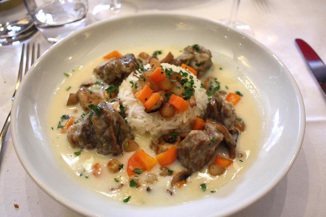 Blanquette de veau, riz pilaf © Gourmets&Co