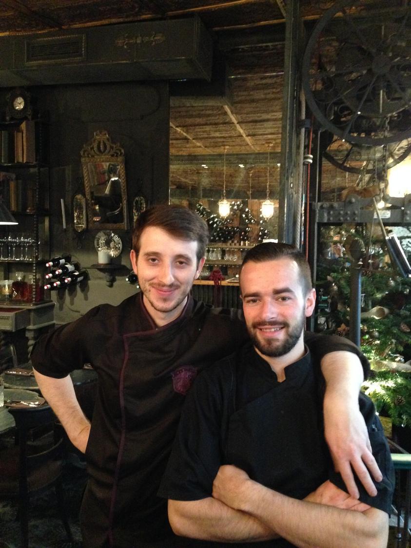 Jonathan Hamel et Clotaire Cotte
