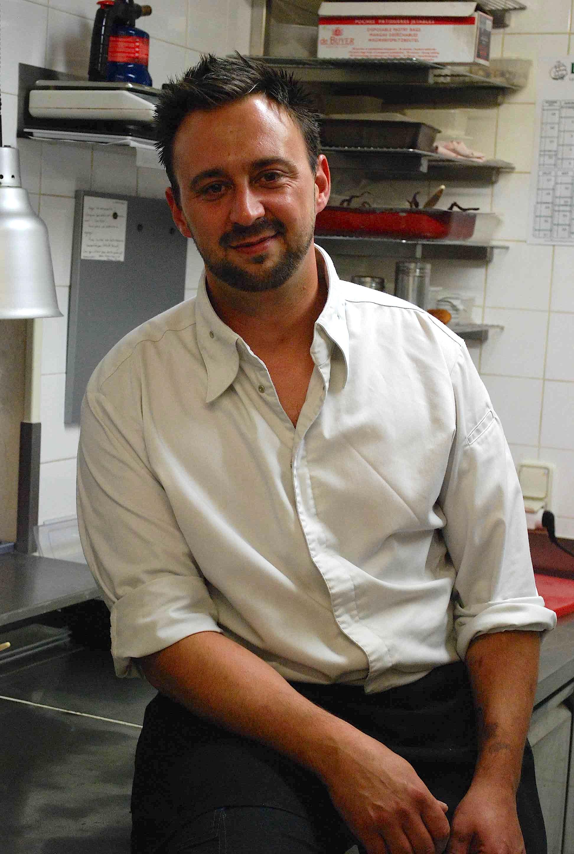 Le chef Nicolas Eche