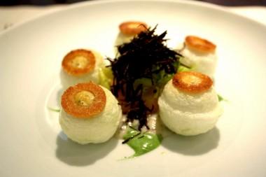 Oeuf en blanc manger © P.Faus