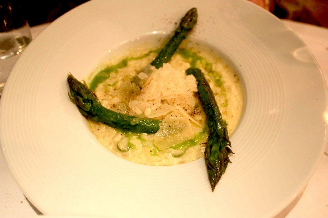 Risotto, asperges, parmesan 03