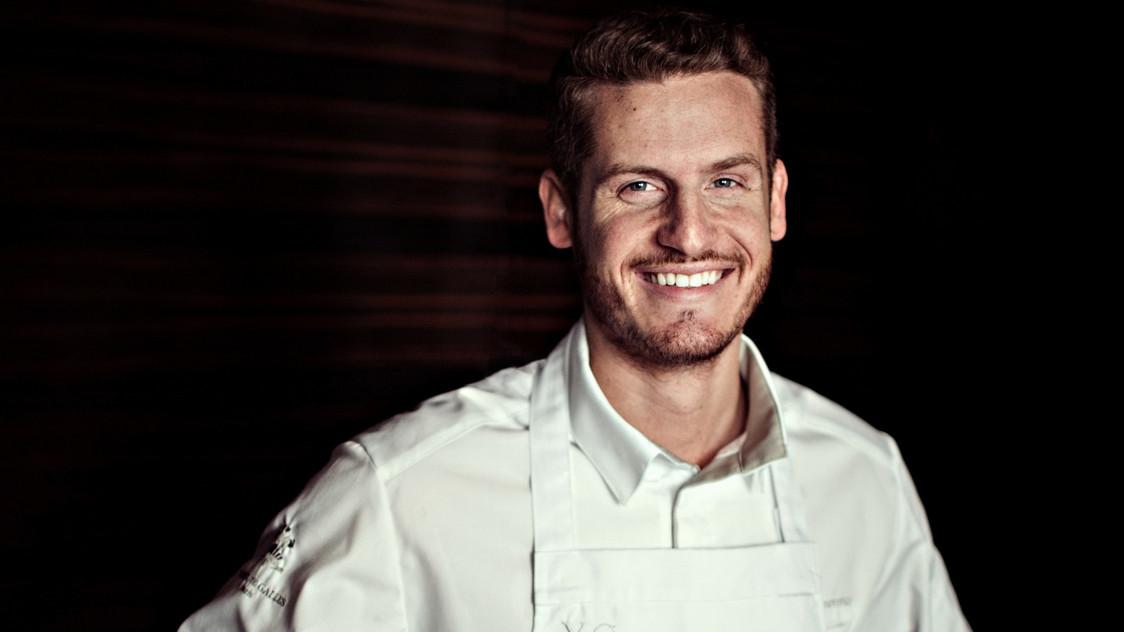 Yann Couvreur, chef pâtissier
