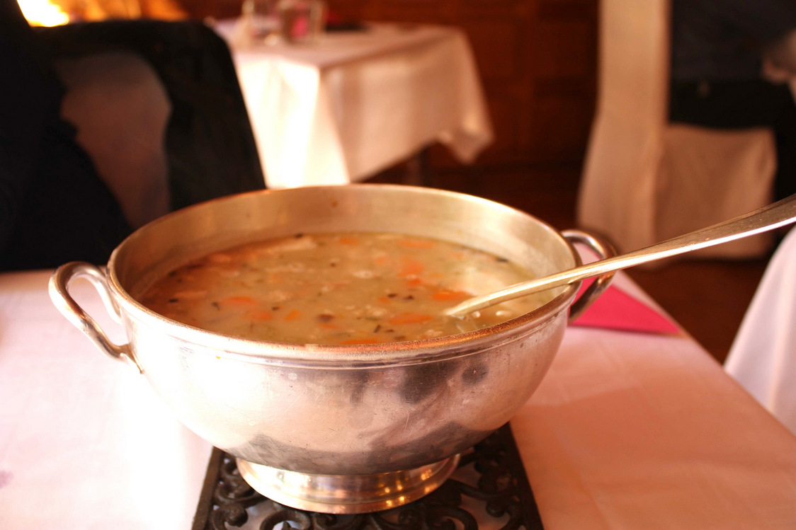 La soupe… © P.Faus