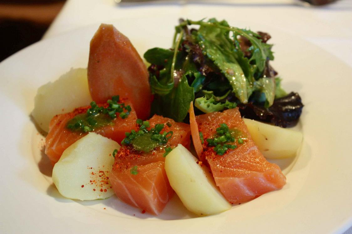 Gravlax de saumon © P.Faus