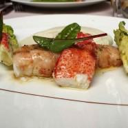 Un Plat pour l'été – Homard en salade, mousseline fenouil à la vanille, vinaigrette coriandre du MiniPalais