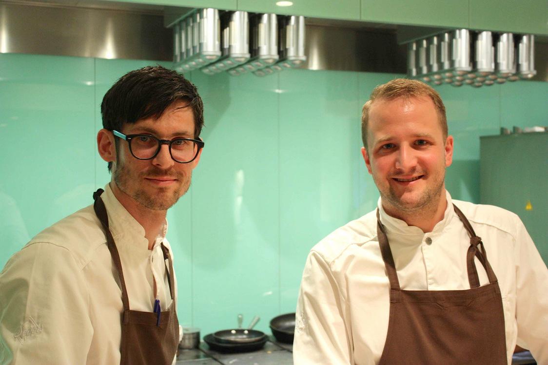 Jaco Holmström (à g.) et Anton Bjuhr; © P.Faus