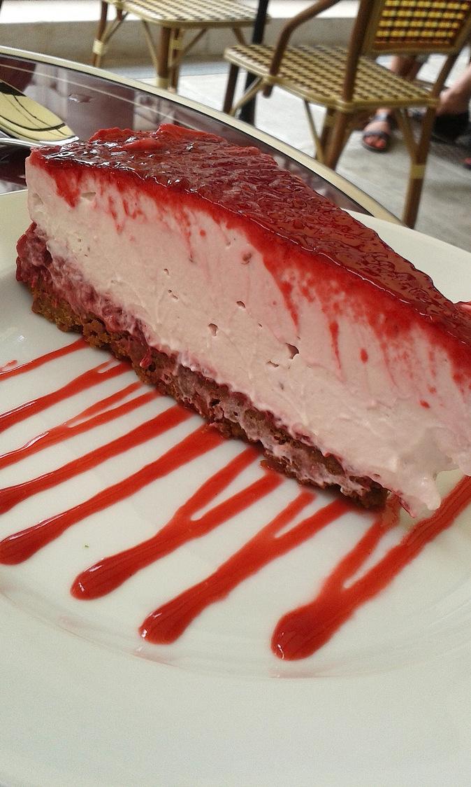 Cheesecake Framboises © P.Faus